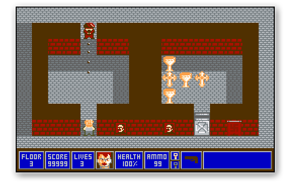 Wolfenstein SD: Demake del videojuego Wolfenstein 3D