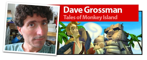 Dave Grossman, el día del Tentáculo y miembro de Telltale Games