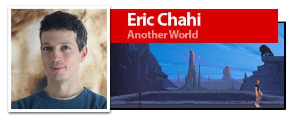Eric Chahi, creador de la aventura Another World, también llamada Out of this world