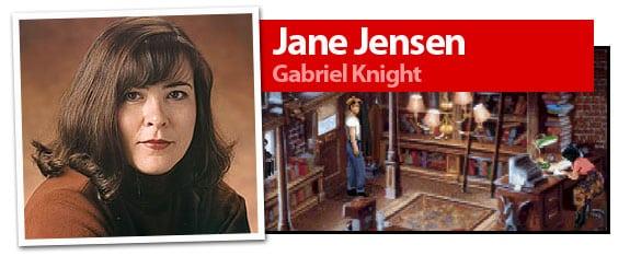 Jane Jensen, desarrolladora de los juegos de Gabriel Knight
