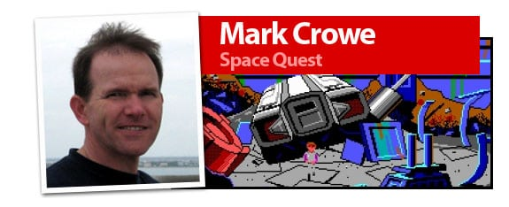 Mark Crowe, creador de la saga de Space Quest