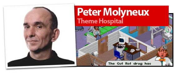 Peter Molyneux, creador de Theme Hospital, Black and White o Populous