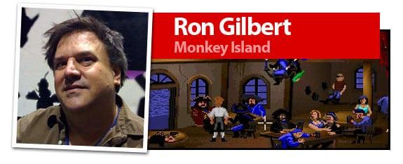 Ron Gilbert, mente creadora de juegos como Monkey Island o Maniac Mansion