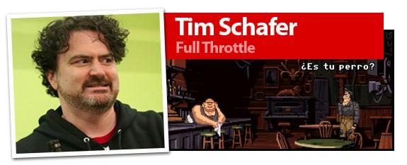 Tim Schafer, autor de Full Throttle