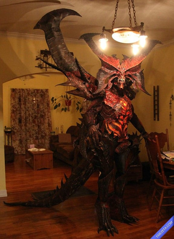 Disfraces de Halloween: Diablo 3