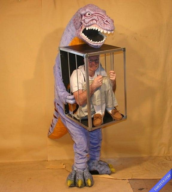 Disfraces de Halloween: Dinosaurio