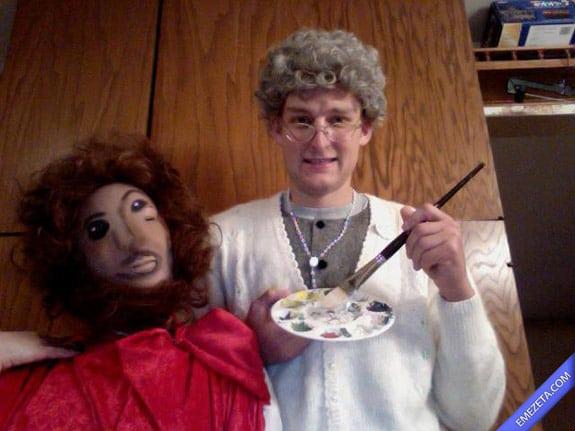 Disfraces de Halloween: Ecce homo cecilia