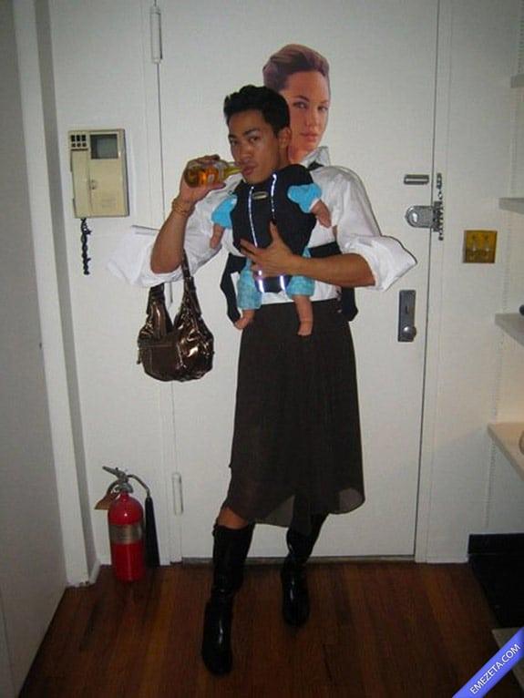 Disfraces de Halloween: Hijo angelina jolie