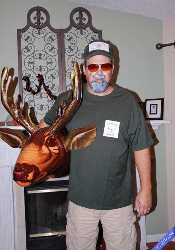 Disfraces de Halloween: Nope chuck testa