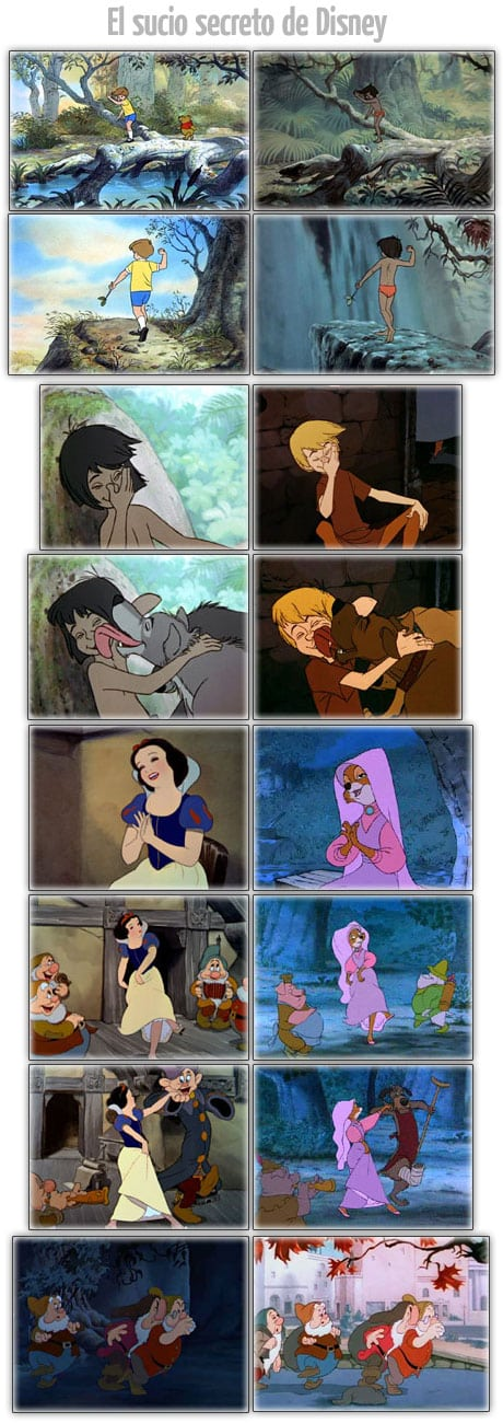 sucio secreto disney dirty secret