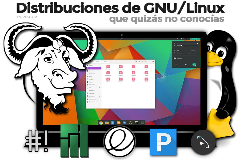 Distribuciones de Linux de 2015
