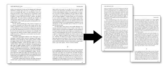 Dividir, separar y unir páginas PDF.