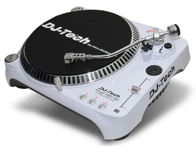 dj tech tocadiscos usb