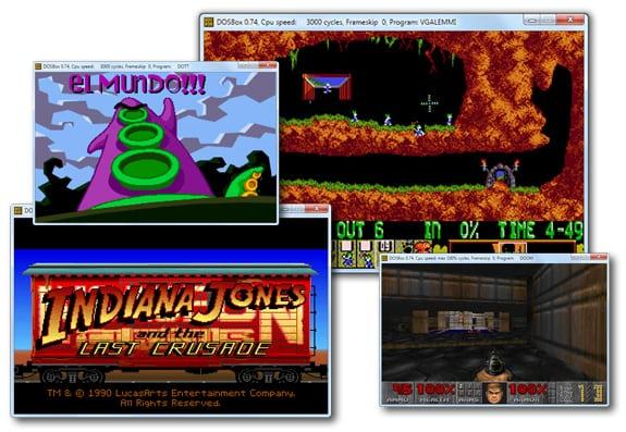 DOSBox: Juegos de MSDOS en equipos actuales