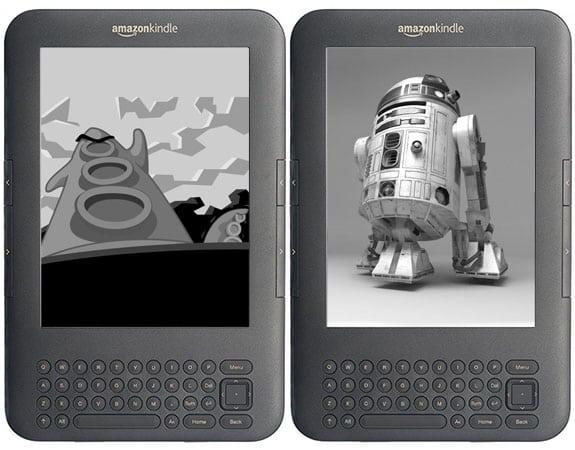 Salvapantallas personalizadas en el sistema operativo alternativo para Kindle, Duokan