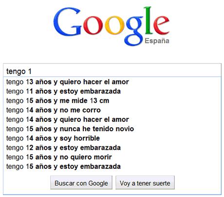 preocupaciones edades google 10 años