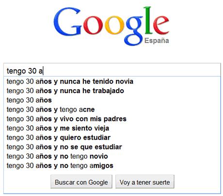 preocupaciones edades google 30 años