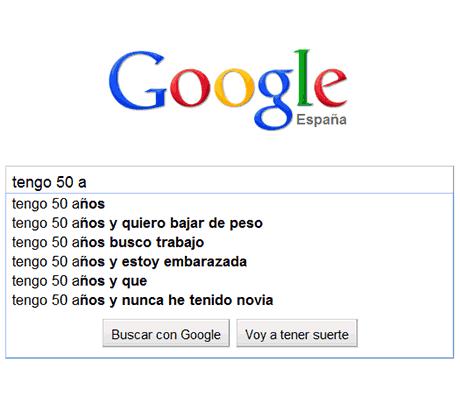 preocupaciones edades google 50 años