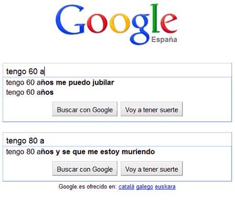preocupaciones edades google 60 80 años