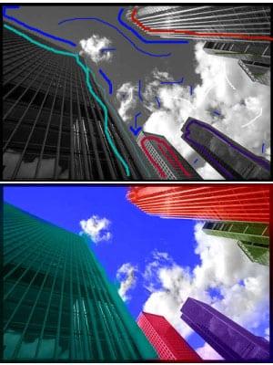 edificios recolored
