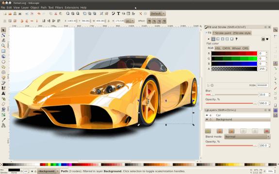 Editores gráficos gratis: Inkscape