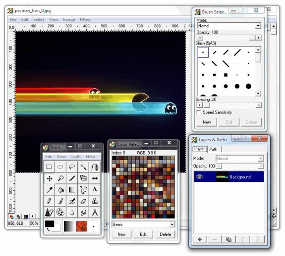 Editores gráficos gratis: PaintStar