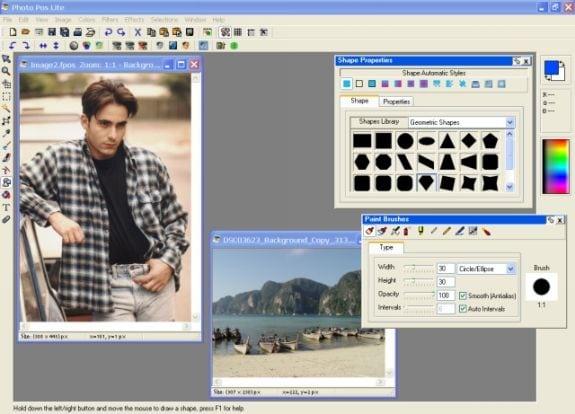 Editores gráficos gratis: Photo Pos Lite