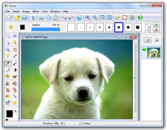 32 editores gr ficos gratuitos emezeta com for Editor de fotos efectos