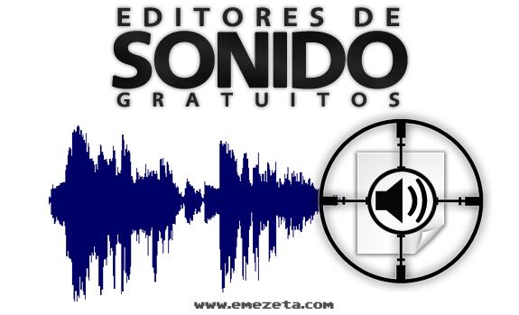 Editores de sonido gratis: Editores sonido gratis