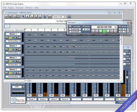 Editores de sonido gratis: Kristal audio engine