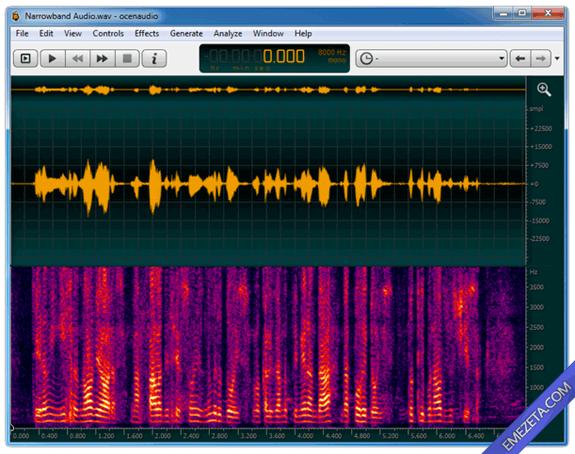 Editores de sonido gratis: Ocen Audio