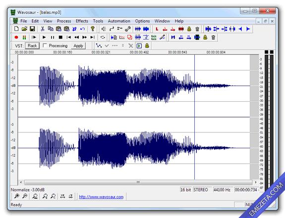 Editores de sonido gratis: Wavosaur