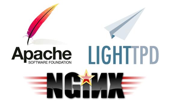 Servidores web: Apache, Lighttpd y Nginx