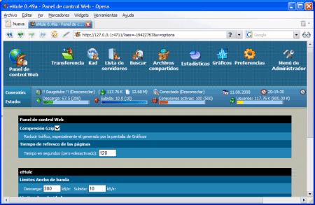 emule webserver