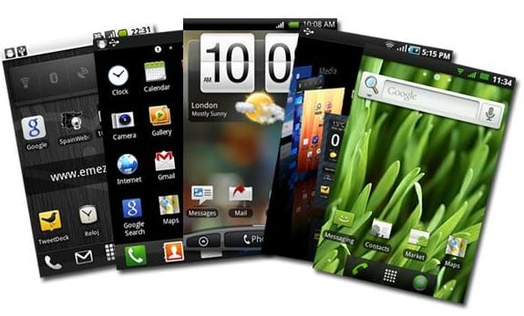 Entendiendo Android: Launchers (HTC Sense, Touchwiz, Regina3D, GoLauncher, etc...