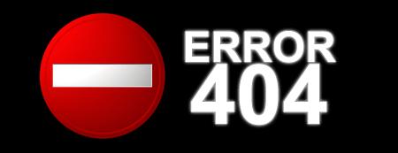 error 404 HTTP