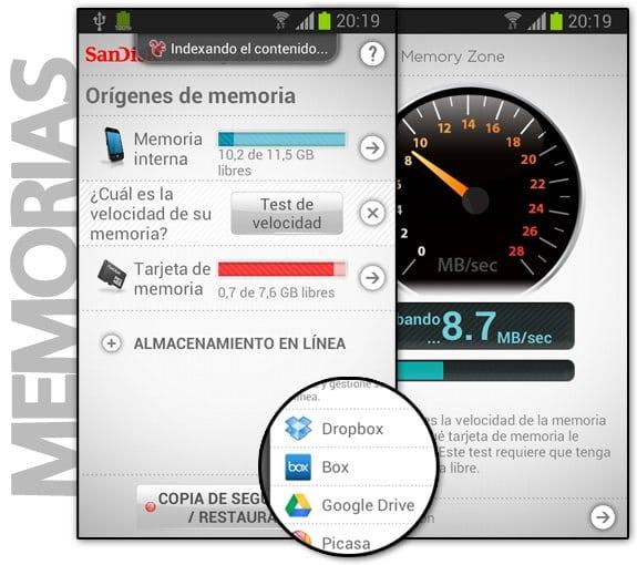 Sandisk Memory Zone: Aplicación para organizar tus datos en dispositivos Android
