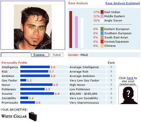 Resultado face analyzer