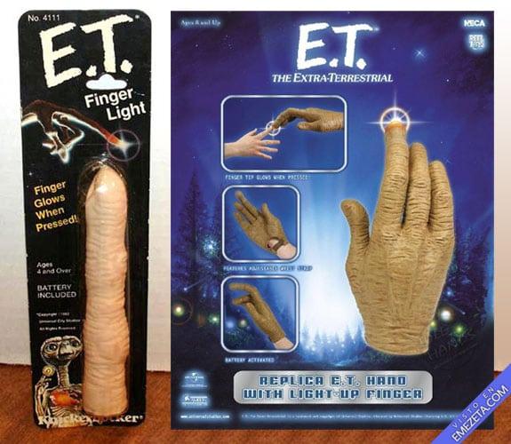 Figuras de acción: E.T. el extraterrestre, Finger Light