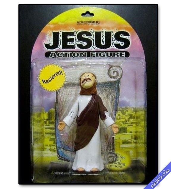 Figuras de acción: Jesús restaurado (Ecce Homo)