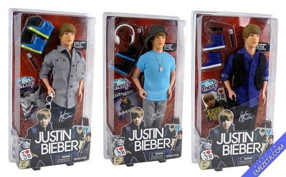 Figuras de acción: Justin Bieber