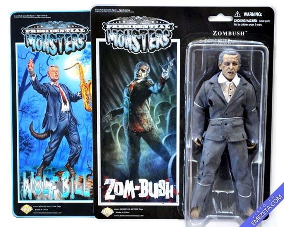 Figuras de acción: Presidential Monsters