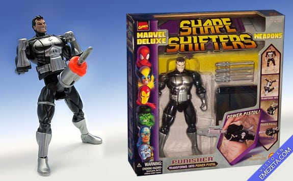 Figuras de acción: Punisher (Shape Shifters)