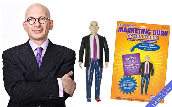 Figuras de acción: Seth Godin (Marketing Guru)