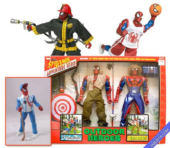 Figuras de acción: Spiderman hero