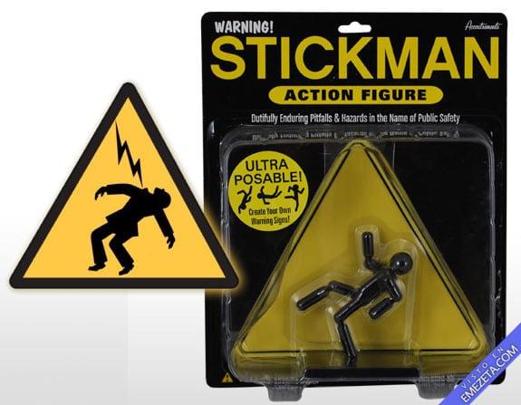 Figuras de acción: Stickman (Cartel de Alto voltaje)