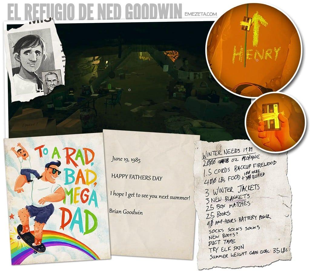 El refugio de Ned Goodwin