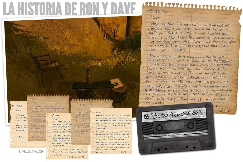 La historia de Ron y Dave
