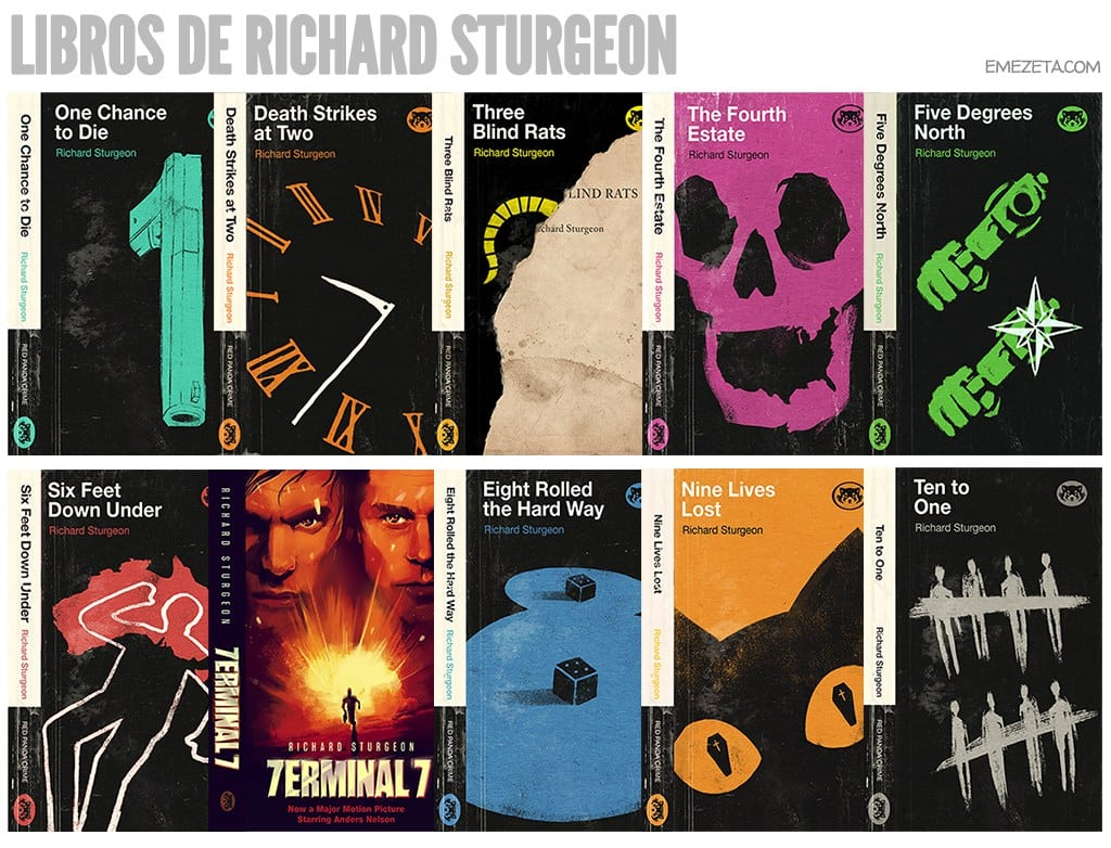 Libros de Richard Sturgeon