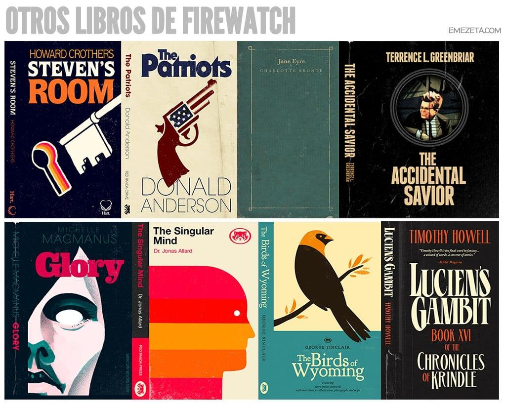 Otros libros de Firewatch